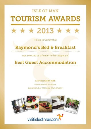 Raymond's : IOM Tourism Awards