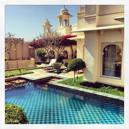 The Oberoi Udaivilas: Room with Private Pool