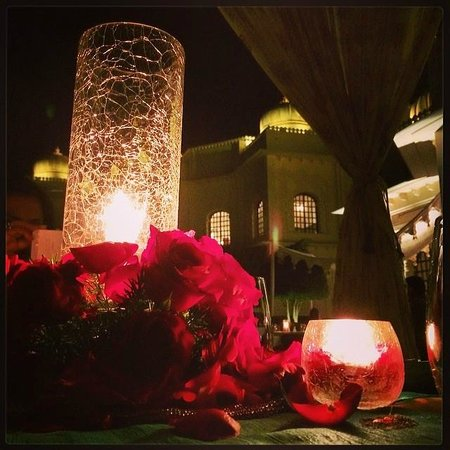 The Oberoi Udaivilas: Special Anniversary Table