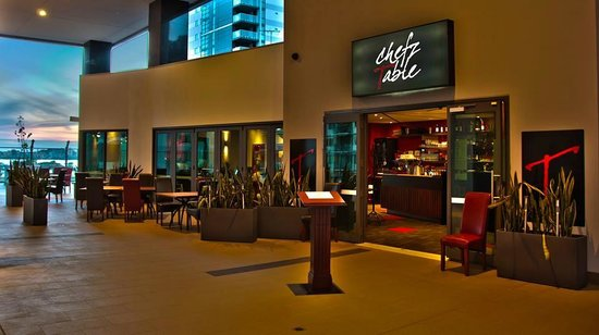 Chefz Table: Front Entrance