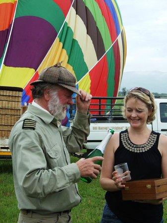 Bill Harrop's Original Balloon Safaris : Harrop's Landing Celebration