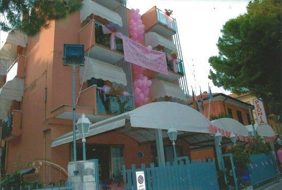 Hotel Peonia : Ingresso