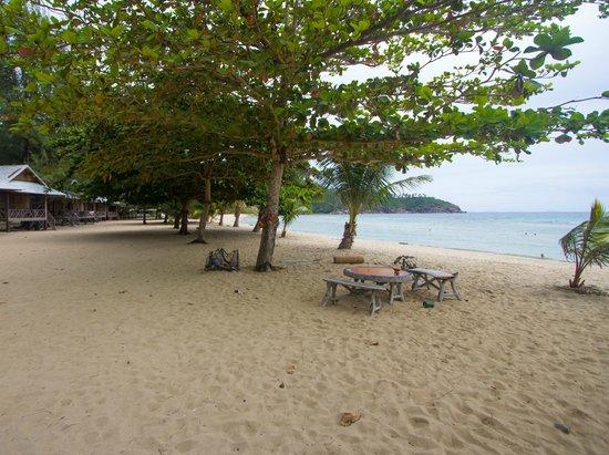 Island View Cabana: пляжик