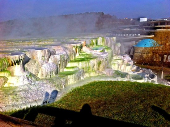 Saliris Resort: salt hill
