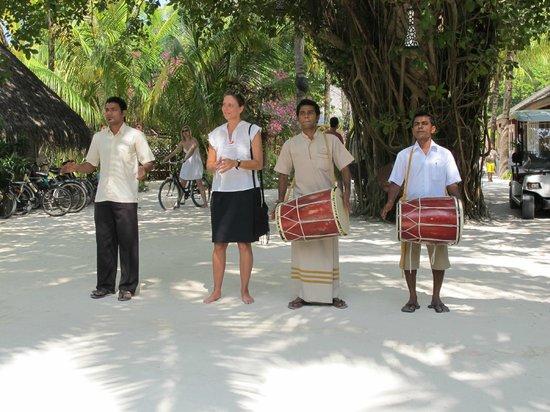 Kuredu Island Resort & Spa: The Welcoming Committee