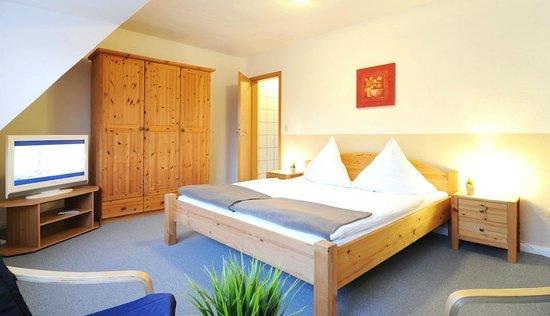 Pension Dünenschloss: Wohnbeispiel Doppelzimmer Standard