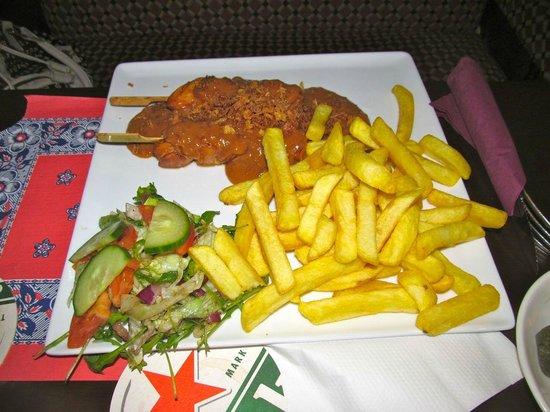 Hotel Old Quarter: Chicken sate