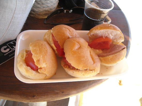 Laguna Vista Beach Resort: set di panini - da dimenticare