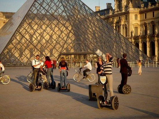 Experience Paris - Segway Tours: Segways at the Louvre