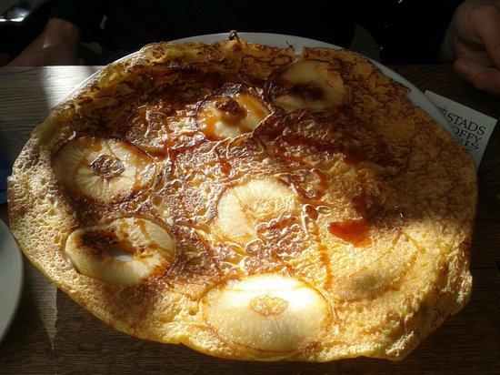Stads-koffyhuis: Apple pancake: delicious!