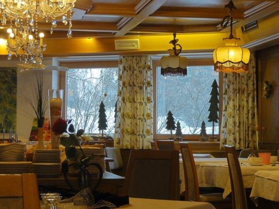 Hotel Alpenblick: sala pranzo
