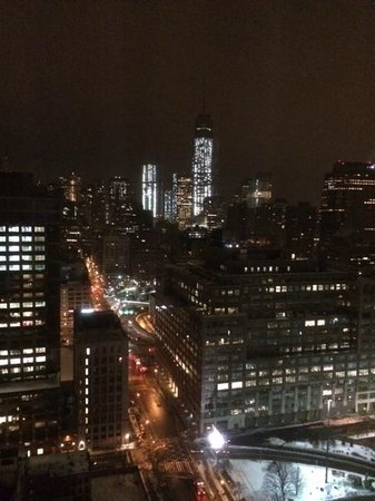 Trump SoHo New York: Vue chambre