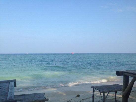 Haad Yao Villa: The view in the morning at breakfast