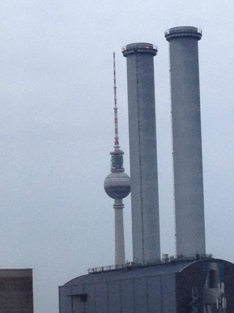 A&O Berlin Mitte: vista sulla torre