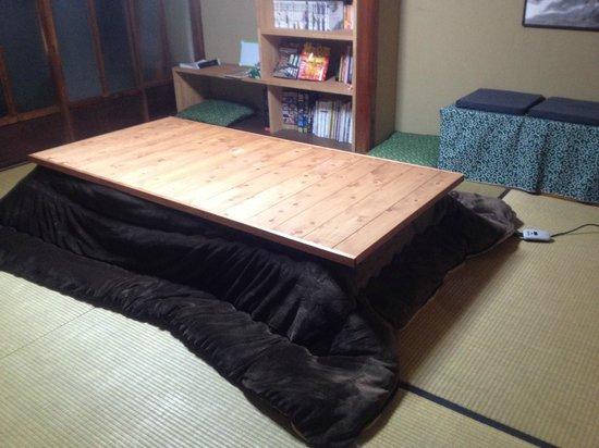 Guesthouse Hitsujian: Common room
