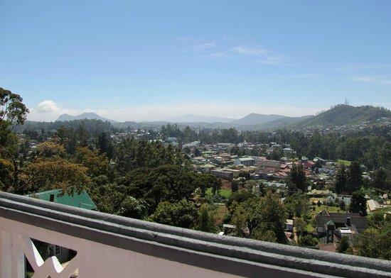 King Fern Bungalow: View from Shangri-La room balcony