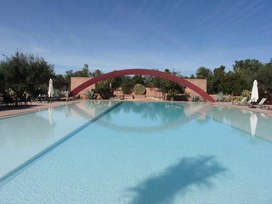 Hôtel Dar Sabra Marrakech : Vue piscine
