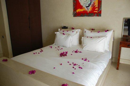 Hôtel Dar Sabra Marrakech : chambre