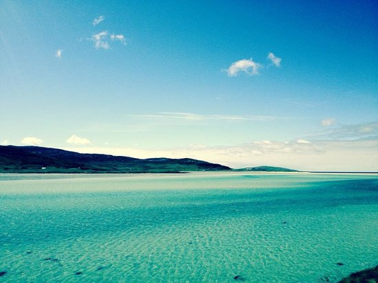 Isle of Harris, UK: Caribbean style