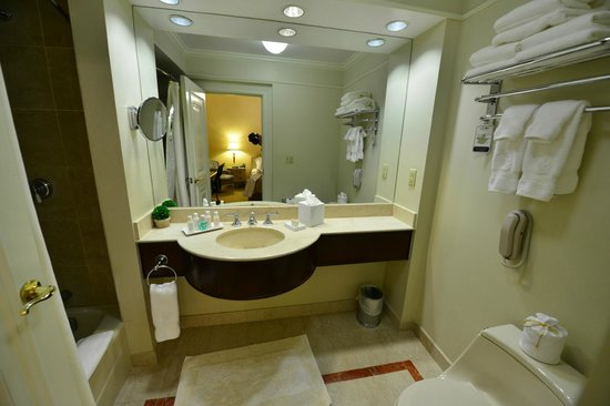 Lenox Hotel : Bathroom