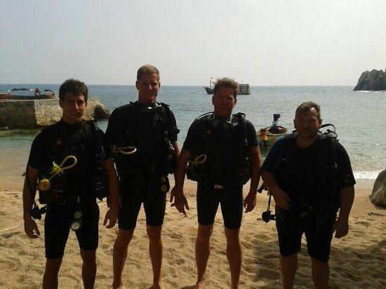 Calypso Diving - Koh Tao: Vor dem Tauchgang