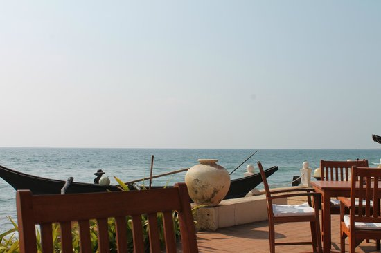 Galle Face Hotel Colombo : View from Bar area (outside)