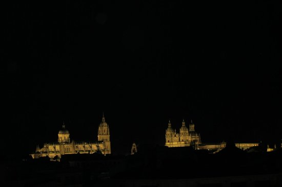 Hotel Condal: Vista por la noche