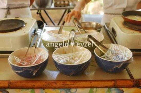 Costabella Tropical Beach Hotel: omelette