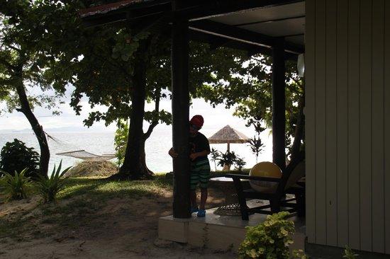 Treasure Island Resort: Our Bure and Beach