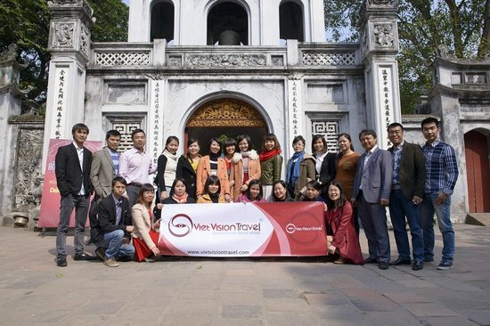 Viet Vision Travel - Day Tours: Viet Vision Travel's Hanoi Team