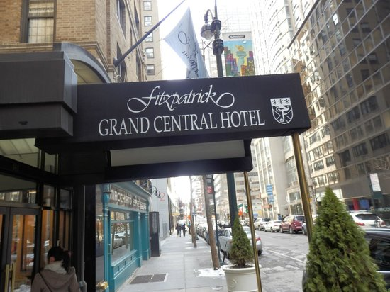 Front of the hotel - Picture of Fitzpatrick Grand Central Hotel, New York City - TripAdvisor