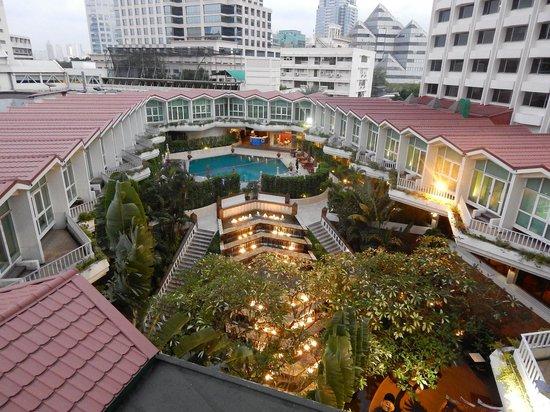 Dusit Thani Bangkok: vu de l'hôtel