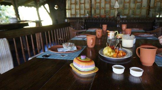 Casa del Arbol: Breakfast