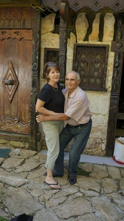 Casa del Arbol: the lovely owners