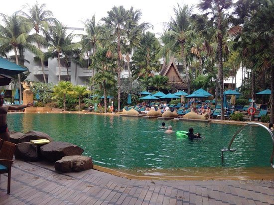 Pattaya Marriott Resort & Spa: The pool