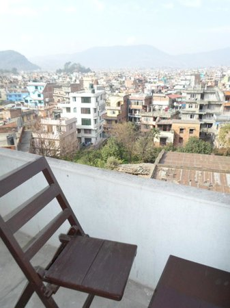 Hotel Encounter Nepal: my room was with balcony view