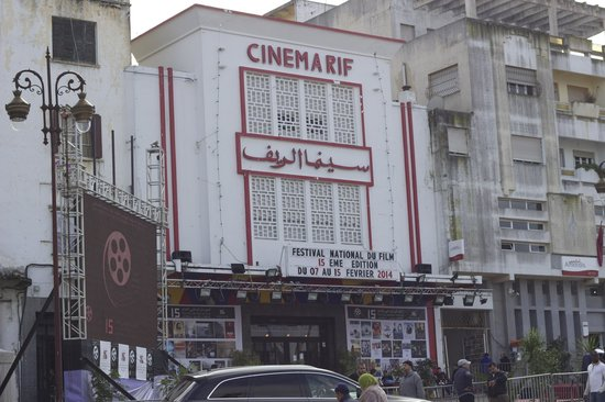 Cinema Rif - view from Grand Socco
