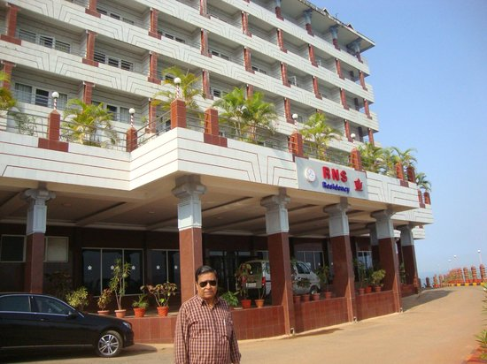 RNS Residency: hotel front