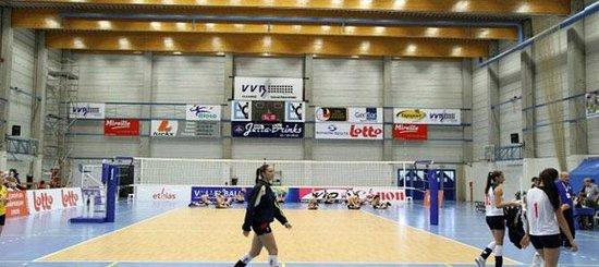 EuroVolleyCenter Hotel: Sporthal