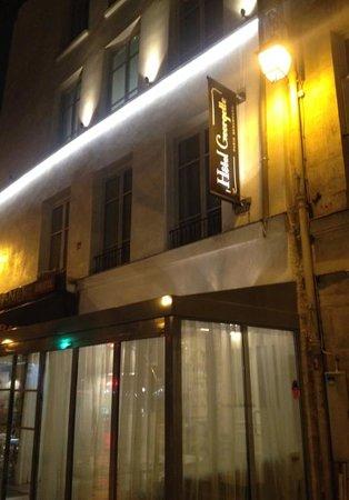 Hôtel Georgette: Hotel Georgette la nuit