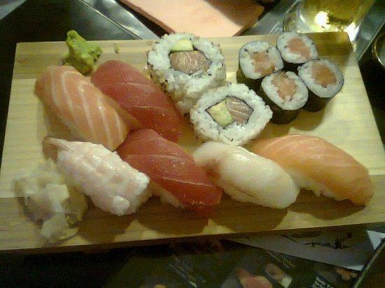 Asahi : sushi misto piccolo