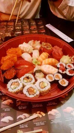 Asahi : misto sushi asporto