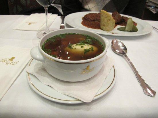 Café Mozart: Zuppa di verdure