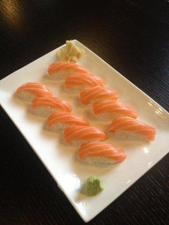 Take Sushi: Nighiri salmone