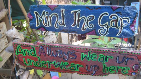 Chill Out House: really mind the gap!