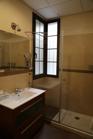 Living-Sevilla San Lorenzo: The beathroom.  Clean and modern
