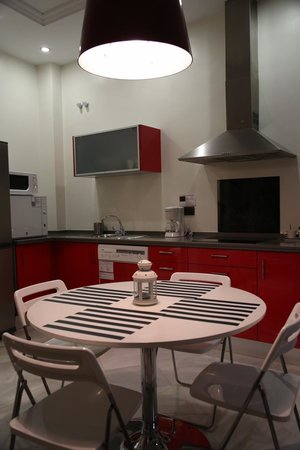 Living-Sevilla San Lorenzo: The kitchen - good appliances!