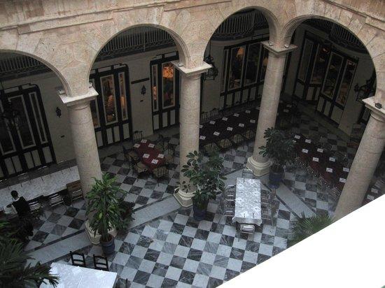 Hotel Florida: interior del hotel