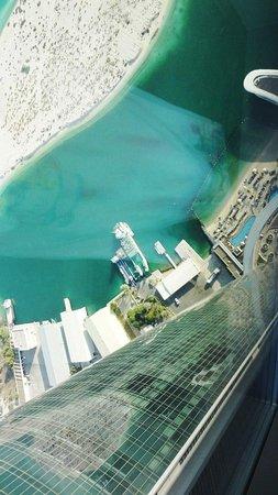 Jumeirah at Etihad Towers: вид с 74 этажа