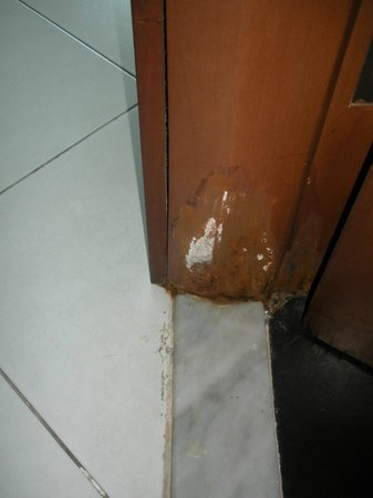 Flora Creek Deluxe Hotel Apartments: Bathroom Door